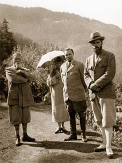 Photograph 'The Roerich family in the Valley of Kullu'
