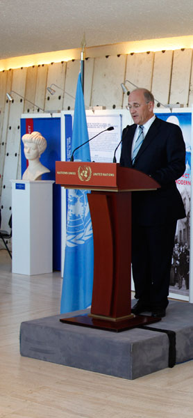 The address of Mr. David Chikvaidze, Chief Librarian of the United Nations Office at Geneva