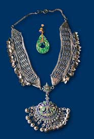Jewelry from H. Roerich's collection