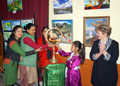 Festivities on the occasion of the 138th anniversary of Helena Roerich in the Himalayan Roerich Estate
