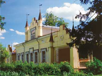 N. Roerich's Museum-Estate in Izvara