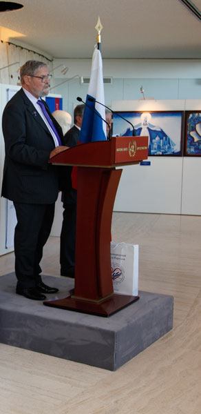 Mr. Alexey V. Postnikov, the President of the International Centre of the Roerichs
