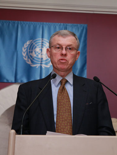 Jeffrey Sexton, Minister-Counselor for Public Affairs of the US Embassy in the Russian Federation