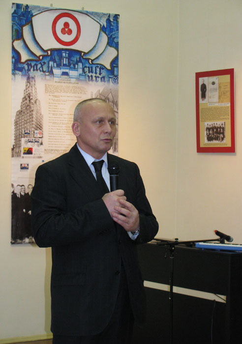 Chairman of the Tver Region department of the All-Russian Society for the Protection of Historical and Cultural Monuments, Mr. Vladimir I. Babichev