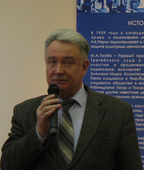 Mr. Nikolai N. Chernikov, Counselor of the Head of the Administration of the City of Tver
