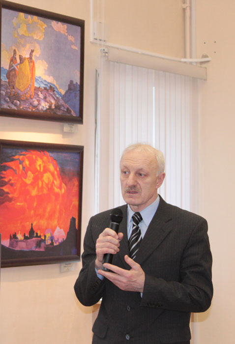 Chairman of the Tver Roerich Organization, Mr. Anatoly G. Lysikov