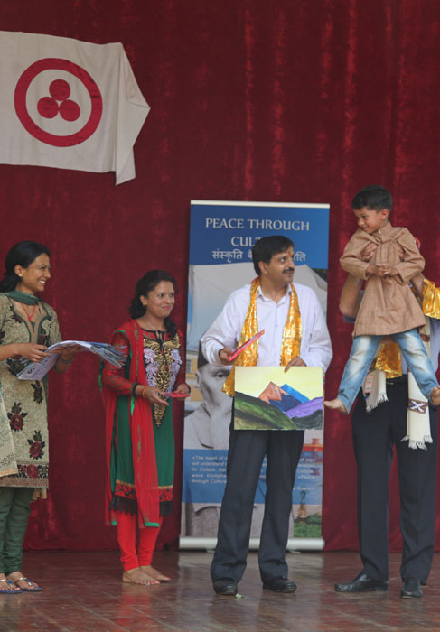 Awarding of the Children's painting Contest winners