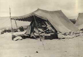 Expedition tent. 1927