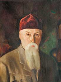 S. Roerich. Portrait of N.К. Roerich. 1940s