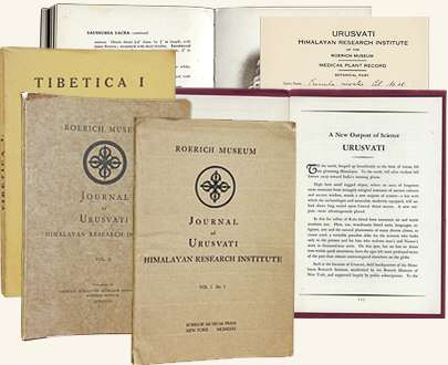 Works from the Urusvati Institute library
