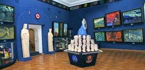 The Living Ethics hall in the Centre-Museum by name of Nicholas Roerich